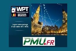 Le WPT National Bruxelles à 1 euro grâce à PMU Poker