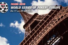 Les WSOPE 2013 à Paris !