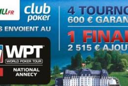 PMU Poker vous envoie à Annecy pour le World Poker Tour