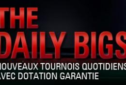 Nouveauté sur Pokerstars : prenez part aux Daily Bigs !