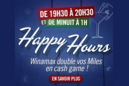 Lancement des Happy Hours de Winamax