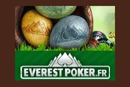 Everest Poker fête Pâques !